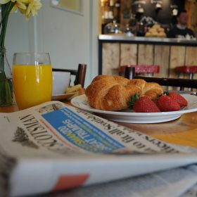Join us for breakfast at the Clubhouse Cafe